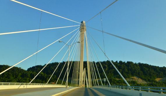 Ohio R bridge Porchmouth