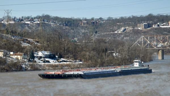 Ohio barge