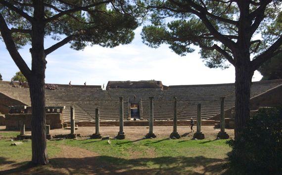 Ostia theatre