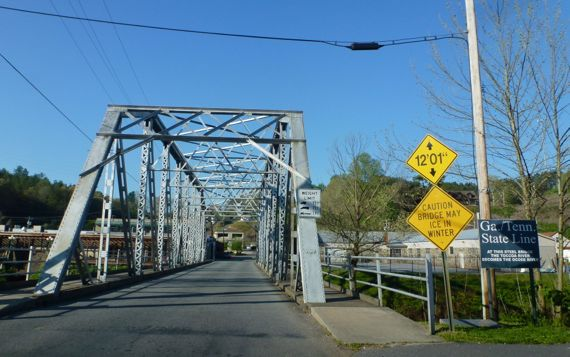 Other bridge McCaysville
