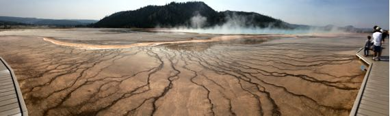 Pano Yellowstone