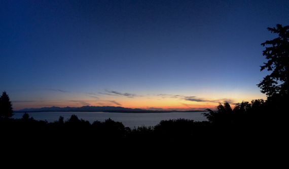 Pano d sunset