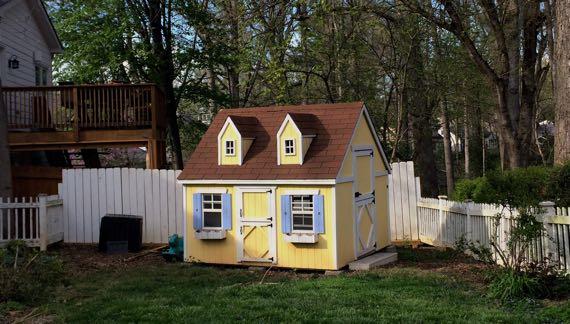 Pastel playhouse