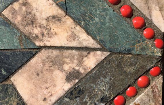 Pieced stonework