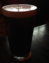 Pint o Guinness refreshment
