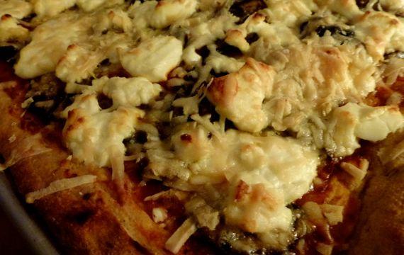 Pizza on king arthurs dough
