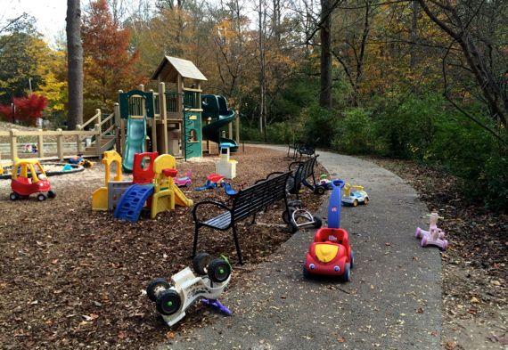Playground scofflaw park