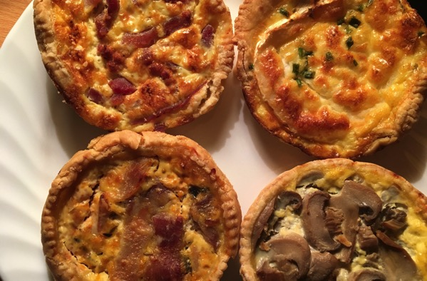 Quiche foursome