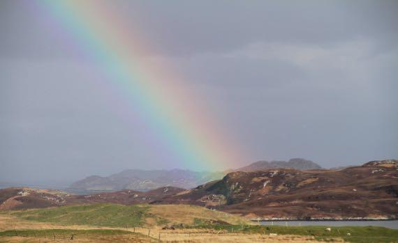 Rainbow from Leurbost