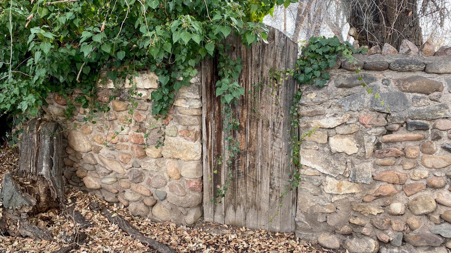 Rarely used doorway