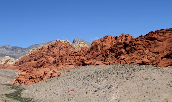 Red rock of red rock canyon