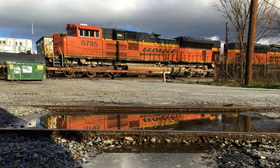 Reflected locomotive