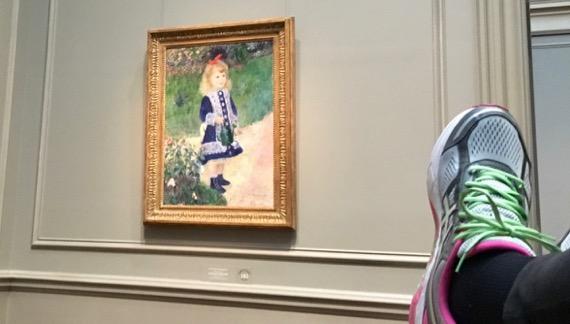 Renoir gal foot