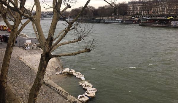 River levels high