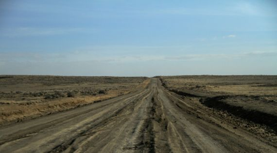 Road NE out of Chaco