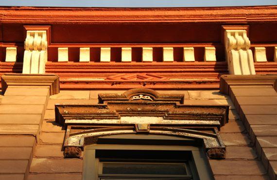 Sandstone building detail marquette