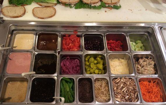 Sandwich condiments
