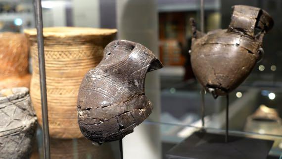 Shale cups burial SalisburyMuseum