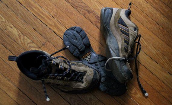 Shoe delamination