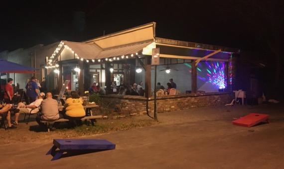 Small town Fri night