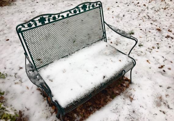 Snow outdoor loveseat