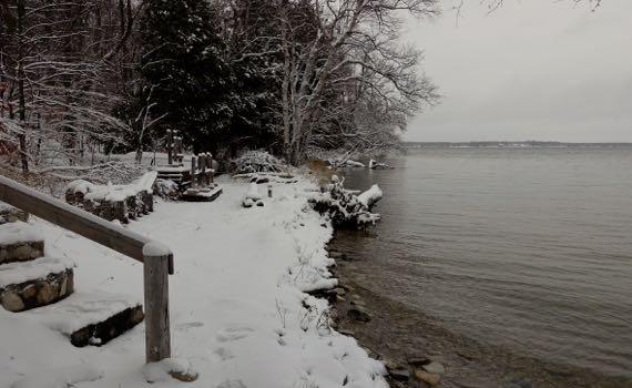 Snow shore