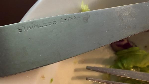 Stainless china