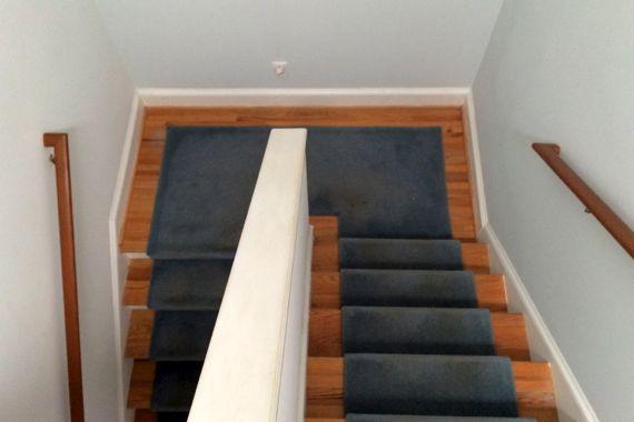 Stairs landing