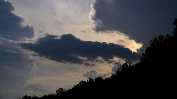 Startling sky