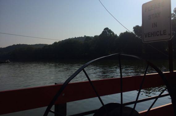 Stayincar ferry
