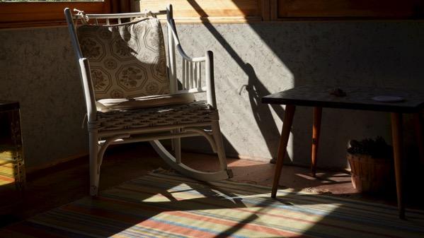 Sun warmed porch
