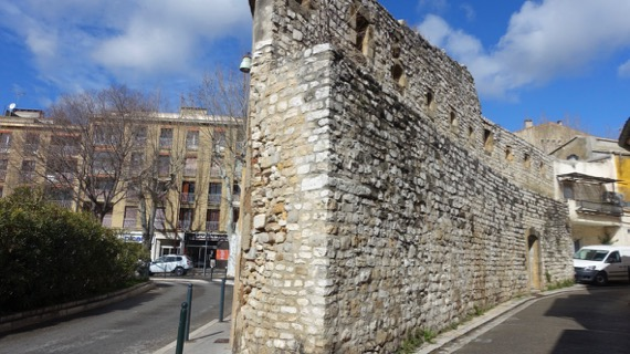 Sunny Medieval wall
