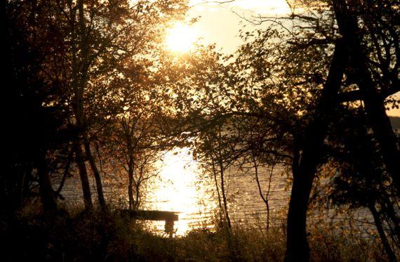 Sunrise washout brightness