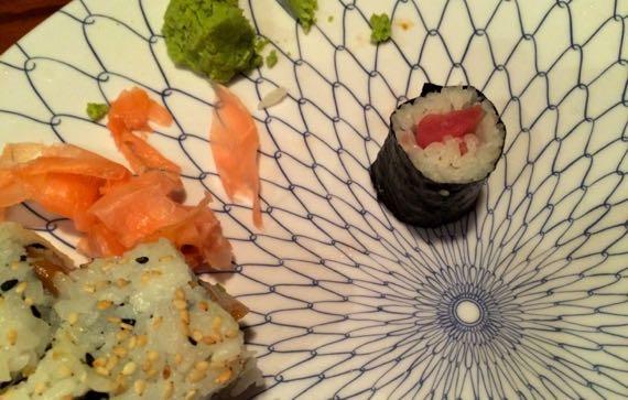 Sushi dregs