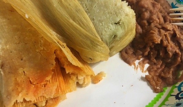 Tamale lunch