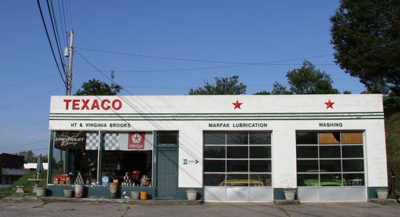 Texaco station historic