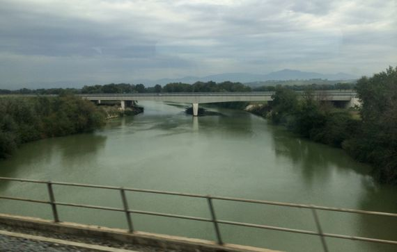 Tiber from N train