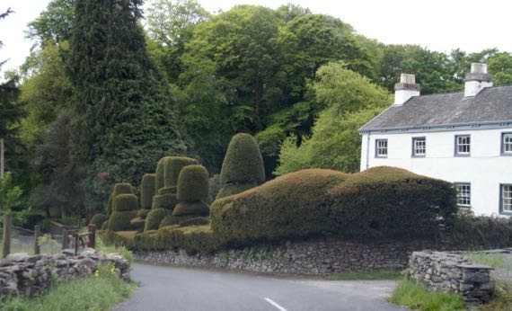 Topiary England