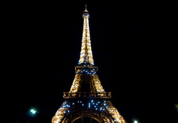Tour eiffel night sparkle all