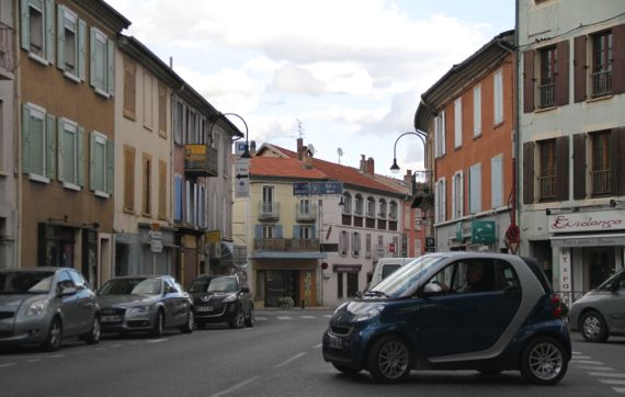 Town of shutters Provence north