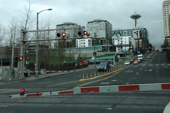 Train downtown seattle