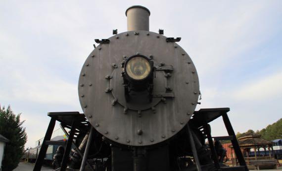 Train headlamp