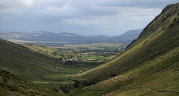 View N Glengesh Pass