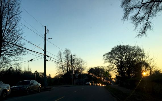 Waning light