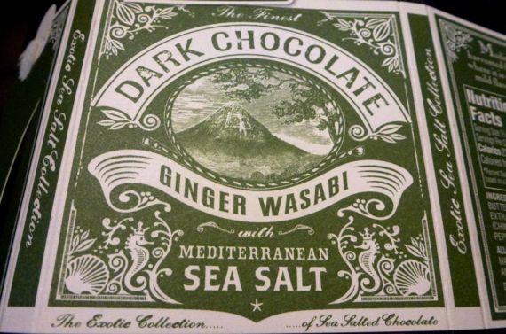 Wasabi dk chocolate pkg