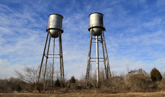 Water tower duo