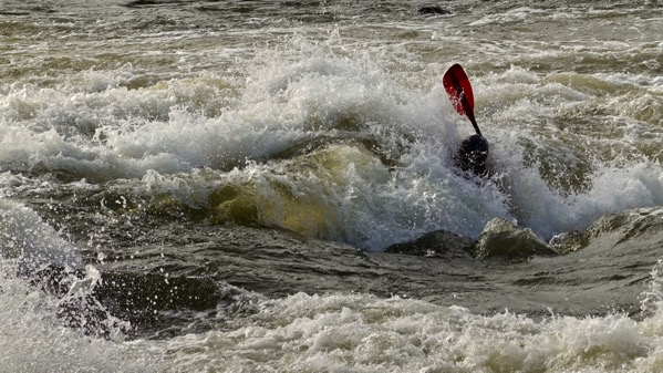 Whitewater running