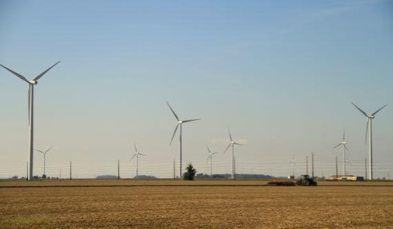 Wind vanes n tractor