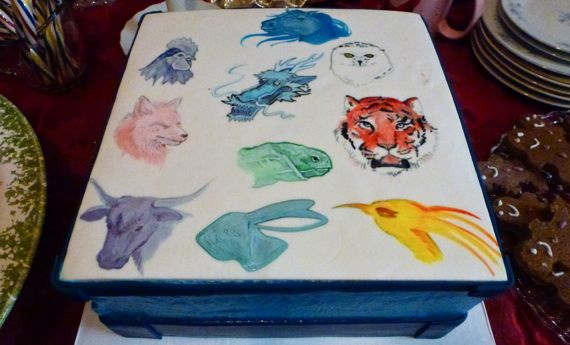 Xanders chinese zodiac cake